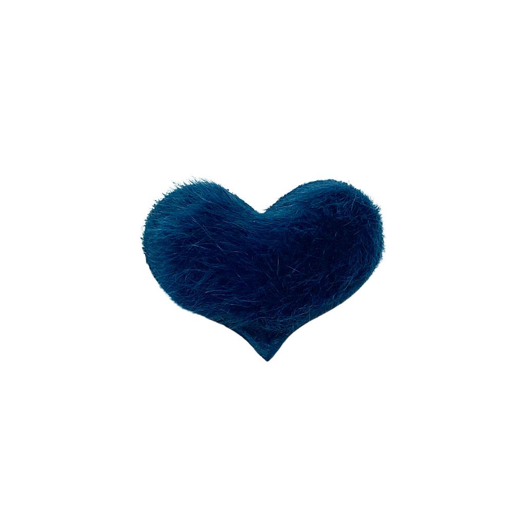 Coração Peludinho 38*30mm