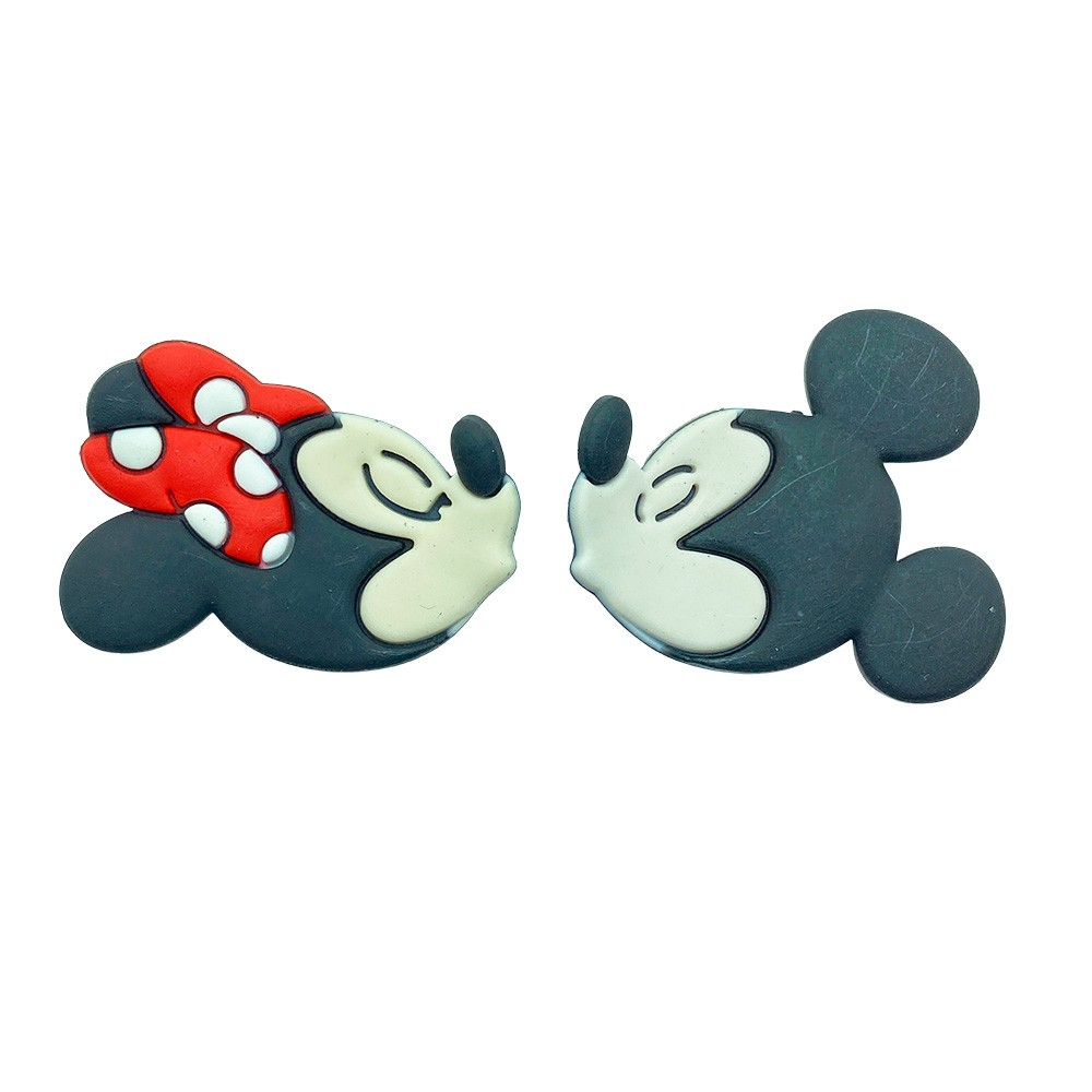 Emborrachado Minnie e Mickey Grande 50x40mm