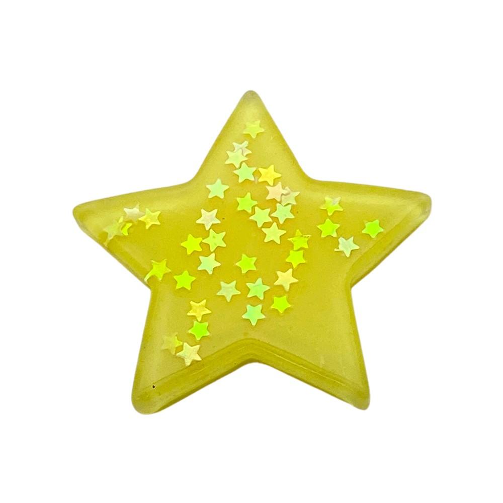 Estrela de Resina com Estrela 3,8cm
