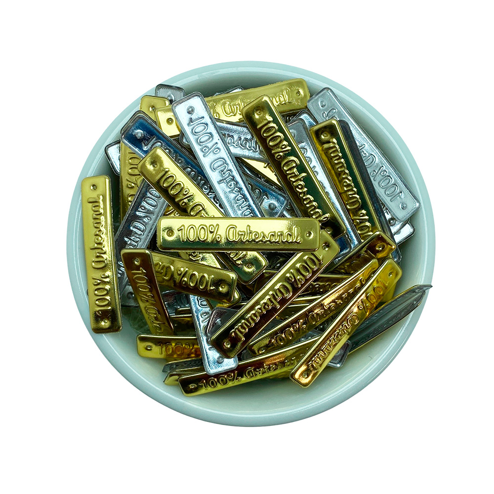 Etiqueta 7x35mm 100% Artesanal - 10 unidades