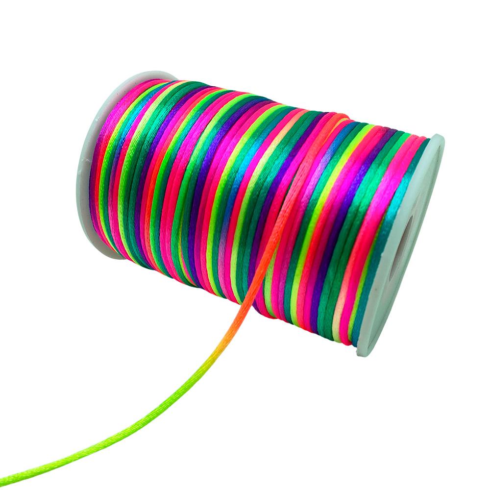 Fio Rabo de Rato colorido 2mm com 5 Metros
