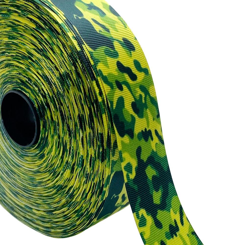 Fita de gorgurão Camuflada 38mm x 5mts
