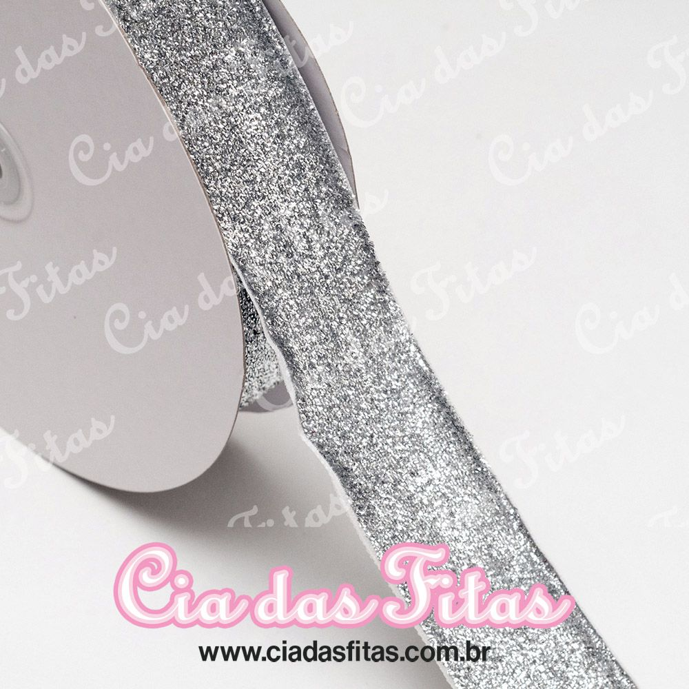 Fita Lurex Esponjada 38mm x 1mts