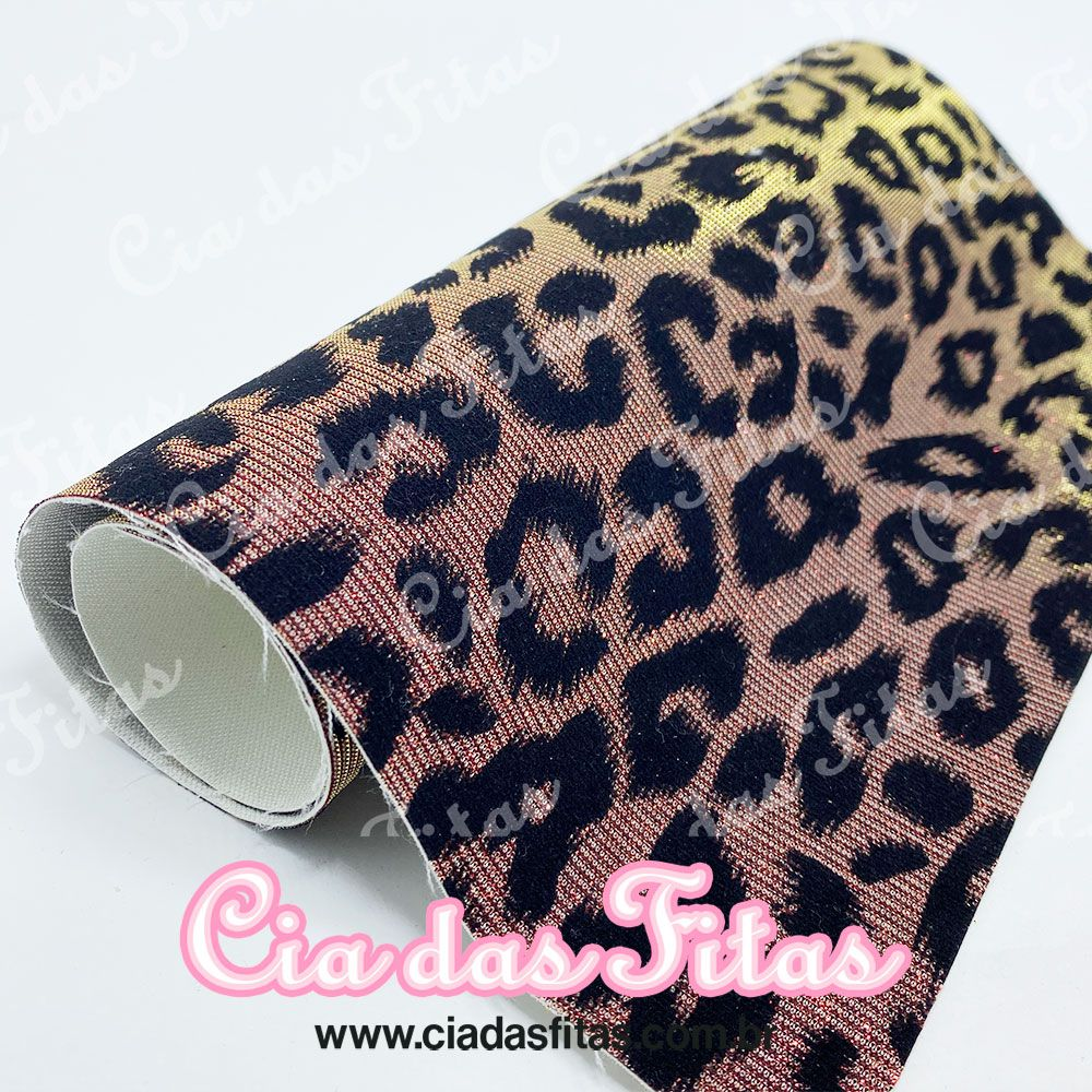 Lonita Animal Print com Glitter 24x40cm