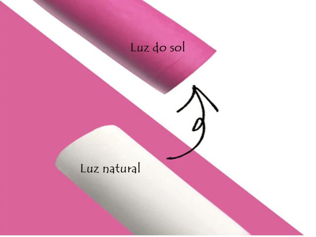 Lonita Solar muda de cor com a Luz Solar 4,0cm (Largura) x 1 Metro Comprimento