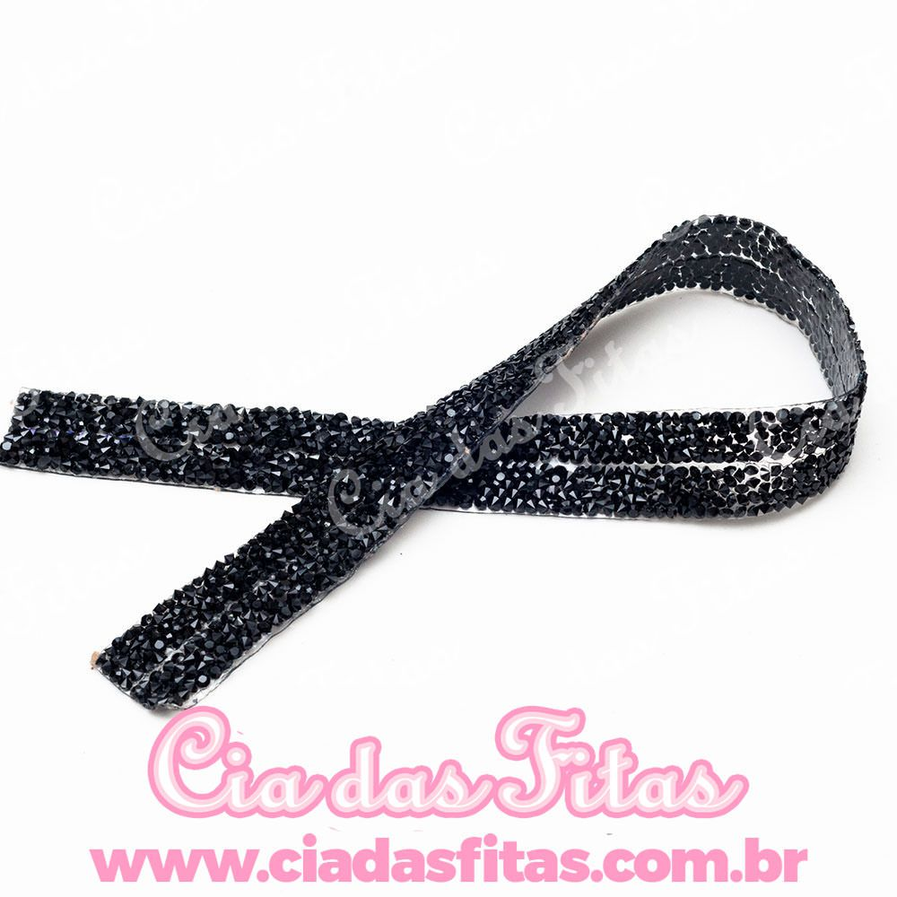 Manta de Strass 2 Fileiras