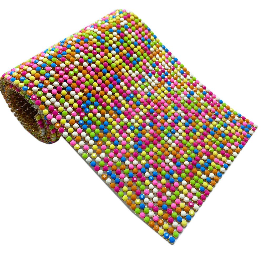 Manta Pedaço Colorida 10x40cm