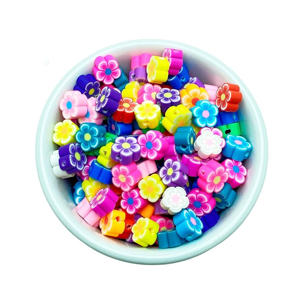 Mini Flor com furo 25 unidades