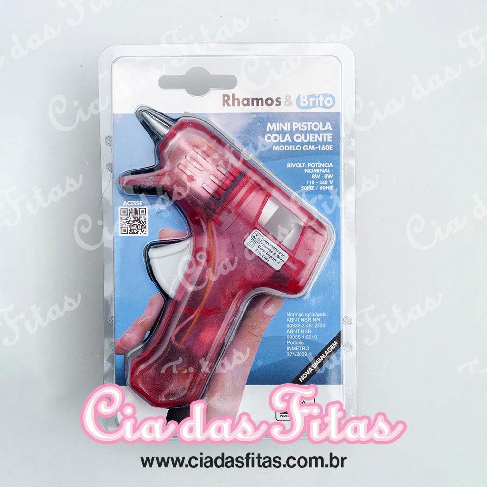 Mini Pistola Cola Quente Gm-160e