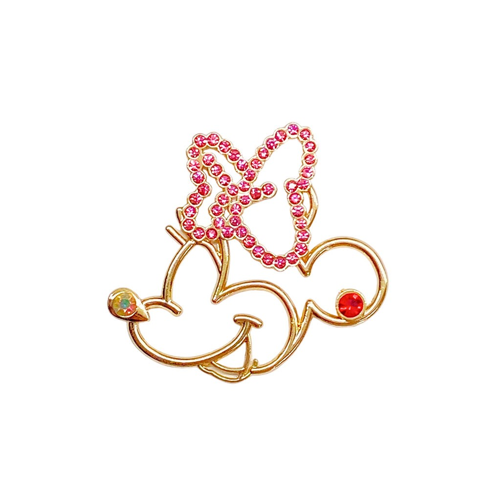 Minnie Metal vazada com Strass