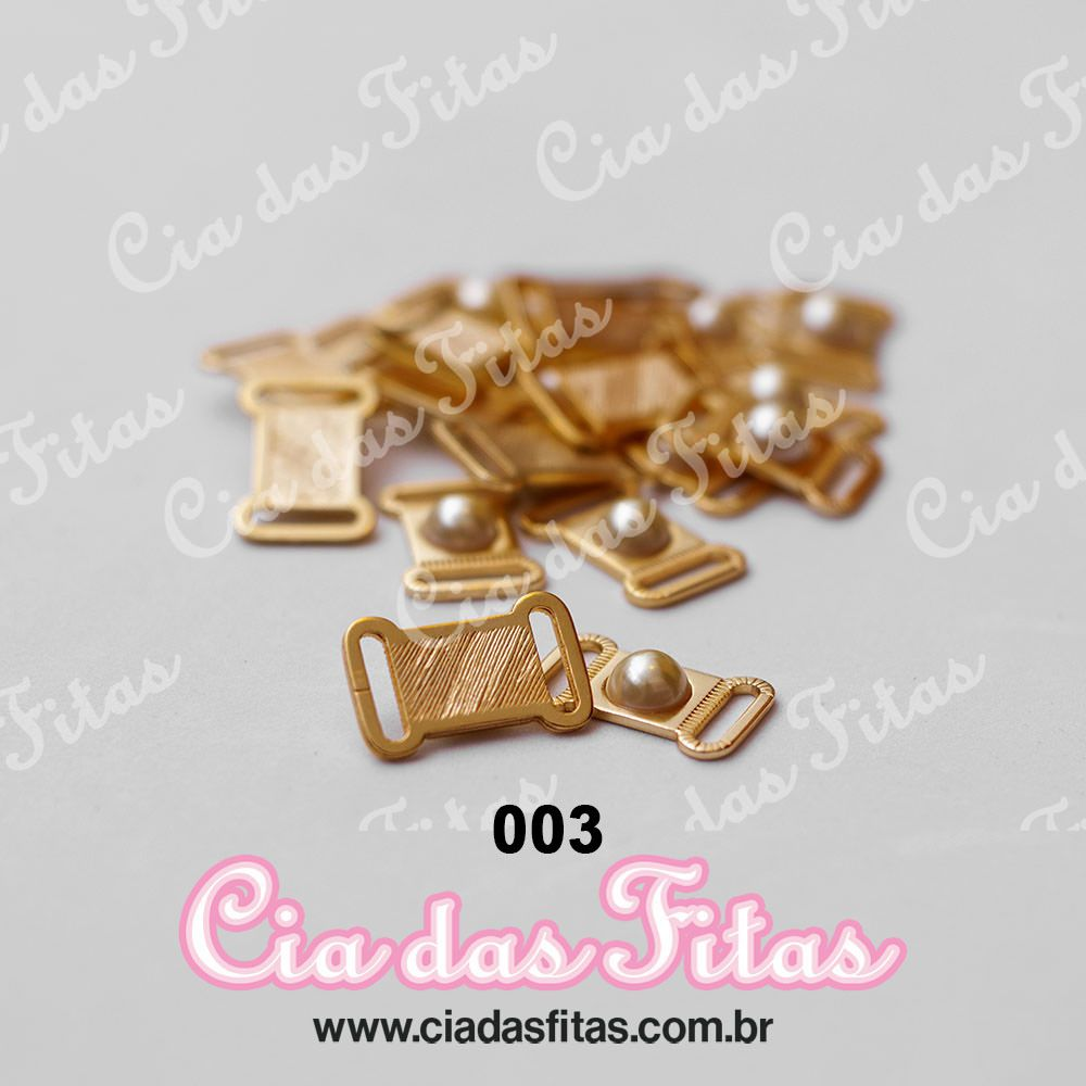 Passante de Metal Dourado