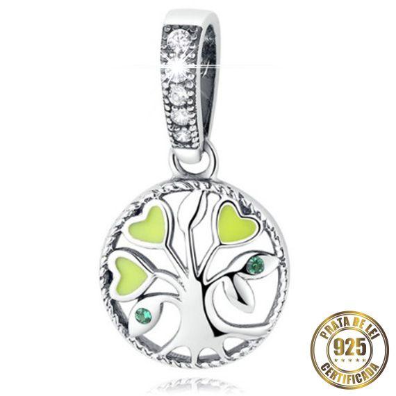 Berloque Árvore do Amor de Prata
