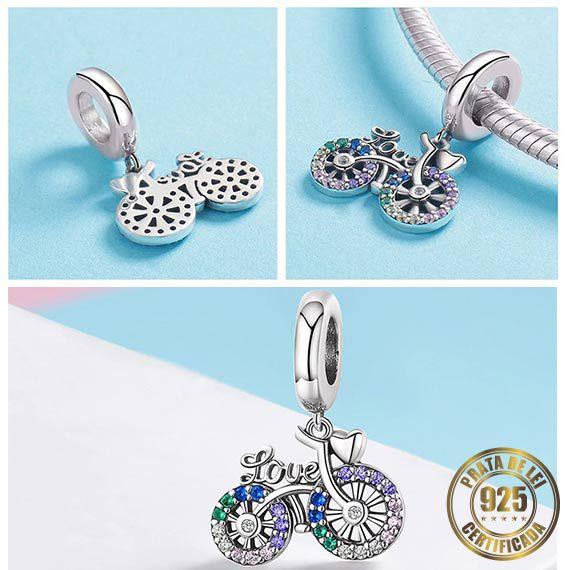 Berloque Bicicleta de Prata