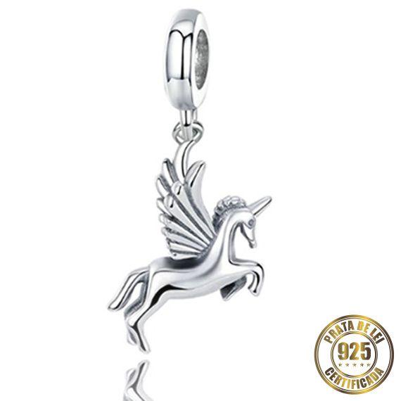 Berloque Cavalo de Prata
