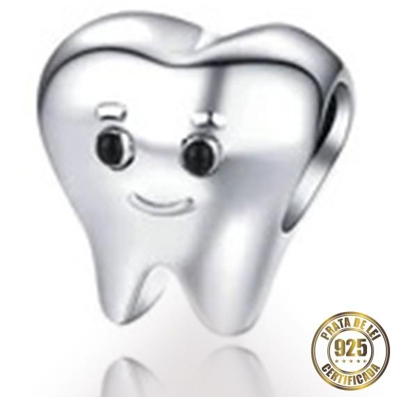 Berloque Dentista de Prata