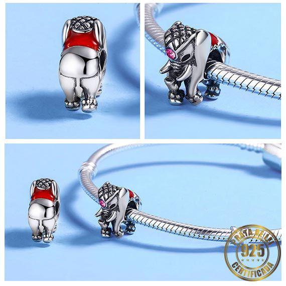 Berloque Elefante de Prata
