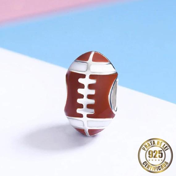 Berloque Futebol Americano de Prata