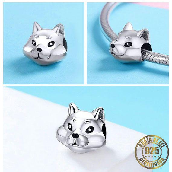 Berloque Gato de Prata