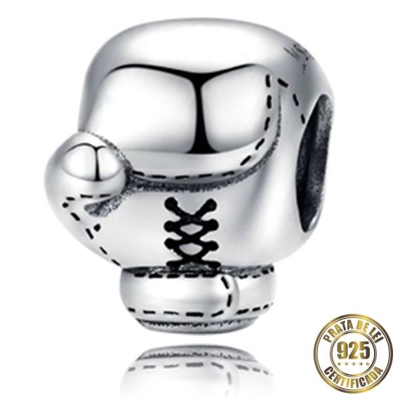 Berloque Luva de Boxe de Prata