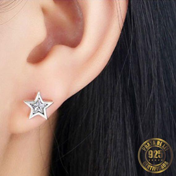 Brinco Estrela de Prata