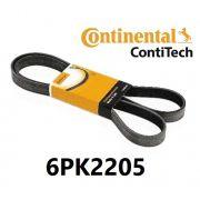 Correia POLY-V Contitech FORD FUSION 2.5 2010/2012