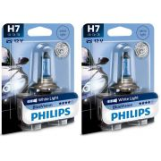 H7 Philips Blue Vision White Light 12V 4000K