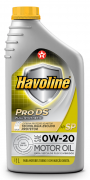 HAVOLINE PRODS FULL SYNTHETIC API SP SAE 0W-20