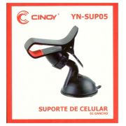 Suporte para celular com clip e ventosa Cinoy