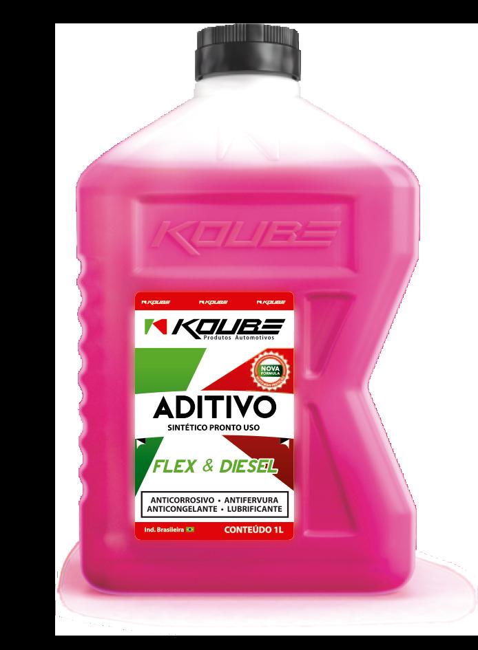 Aditivo Pronto Uso Sintético Flex & Diesel Rosa  - E-Shop Autostore - A loja do Canal Auto Didata