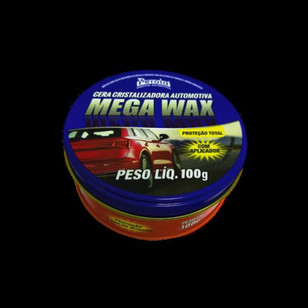 Cera Cristalizadora MEGA WAX 100g  - E-Shop Autostore - A loja do Canal Auto Didata