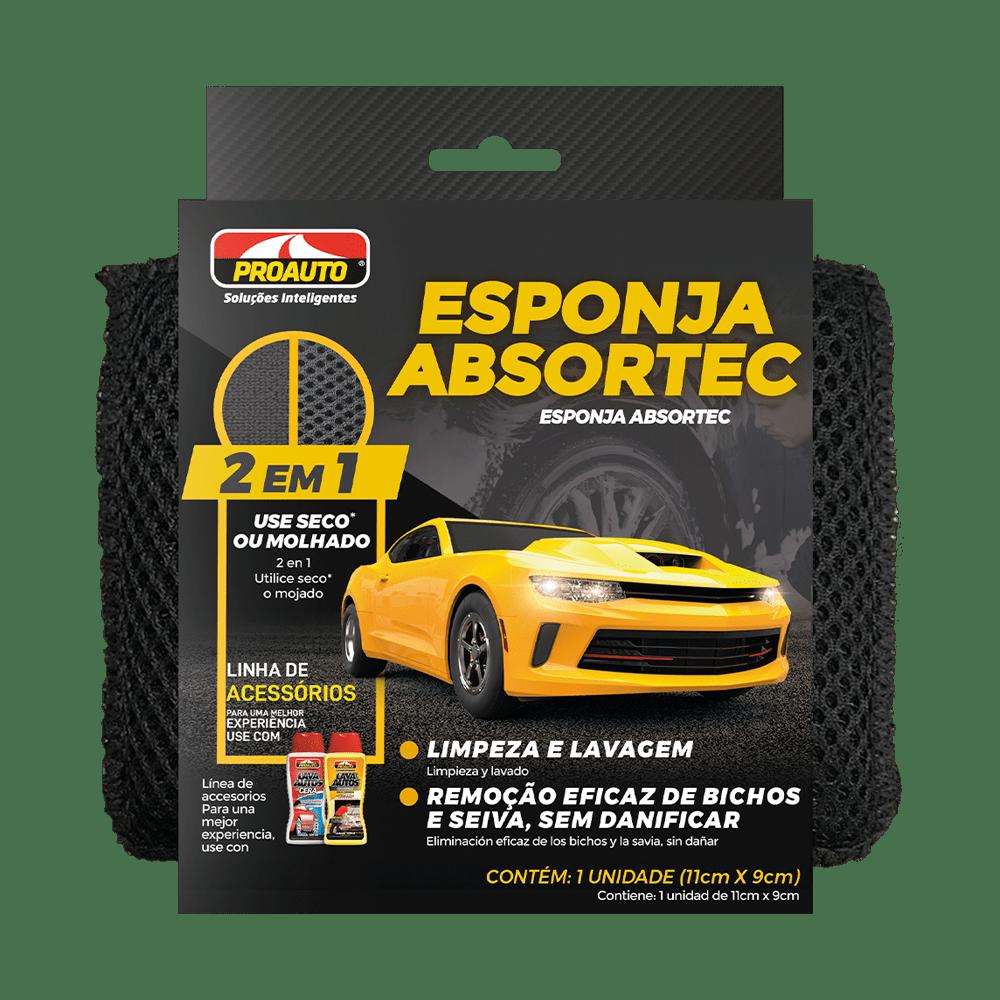 ESPONJA ABSORTEC (11cm x 9cm)  - E-Shop Autostore - A loja do Canal Auto Didata