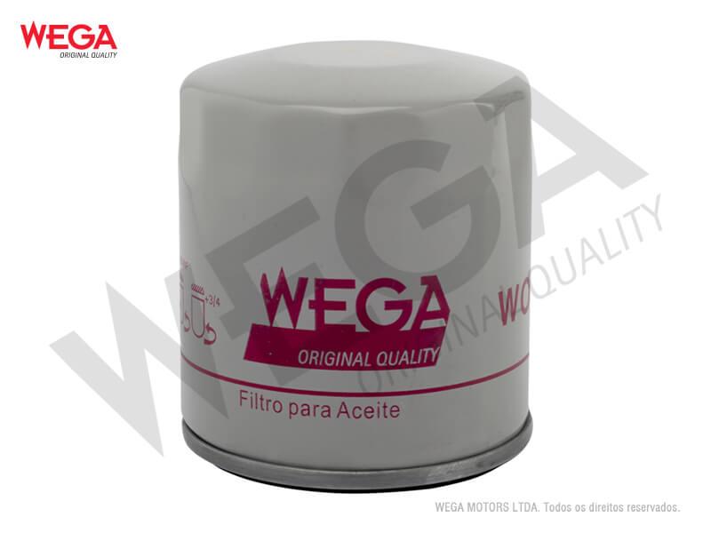 FILTRO DE ÓLEO WEGA WO-153 FUSION 2.5  - E-Shop Autostore - A loja do Canal Auto Didata