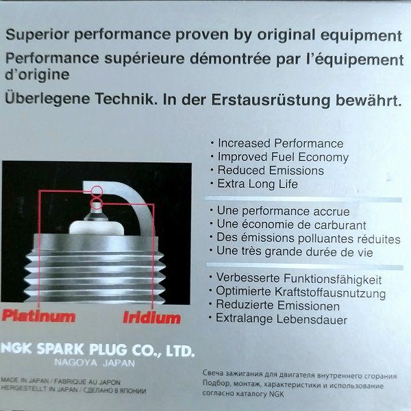 FORD FUSION V6 - Velas NGK TR5AI-13 Laser Iridium   - E-Shop Auto Store - A loja do Canal Auto Didata