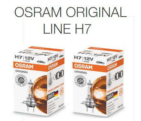 H7 12V OSRAM Classic 55W  - E-Shop Autostore - A loja do Canal Auto Didata