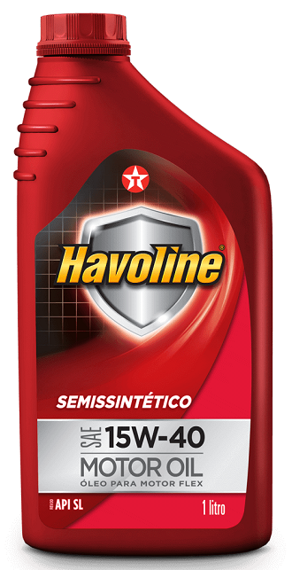 HAVOLINE SEMISSINTÉTICO API SL SAE 15W-40  - E-Shop Autostore - A loja do Canal Auto Didata