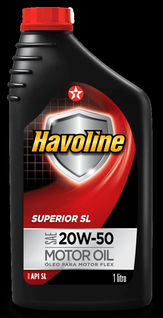 HAVOLINE SUPERIOR API SL SAE 20W-50  - E-Shop Autostore - A loja do Canal Auto Didata