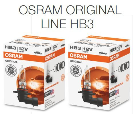 HB3 12V OSRAM CLASSIC 60W  - E-Shop Autostore - A loja do Canal Auto Didata