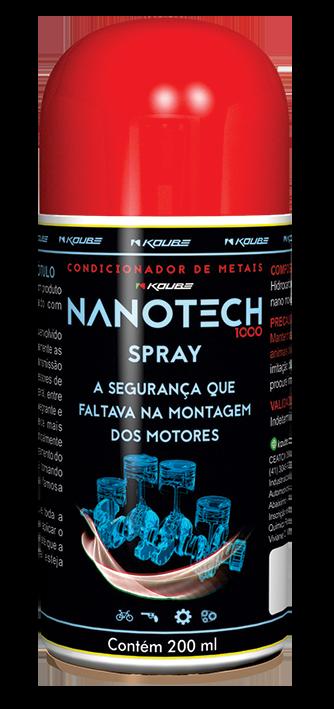 Koube Nanotech 1000 Spray  - E-Shop Autostore - A loja do Canal Auto Didata