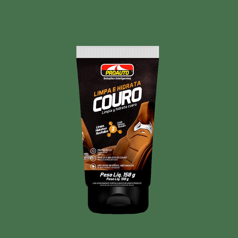 Limpa e Hidrata Couro Proauto  - E-Shop Auto Store - A loja do Canal Auto Didata