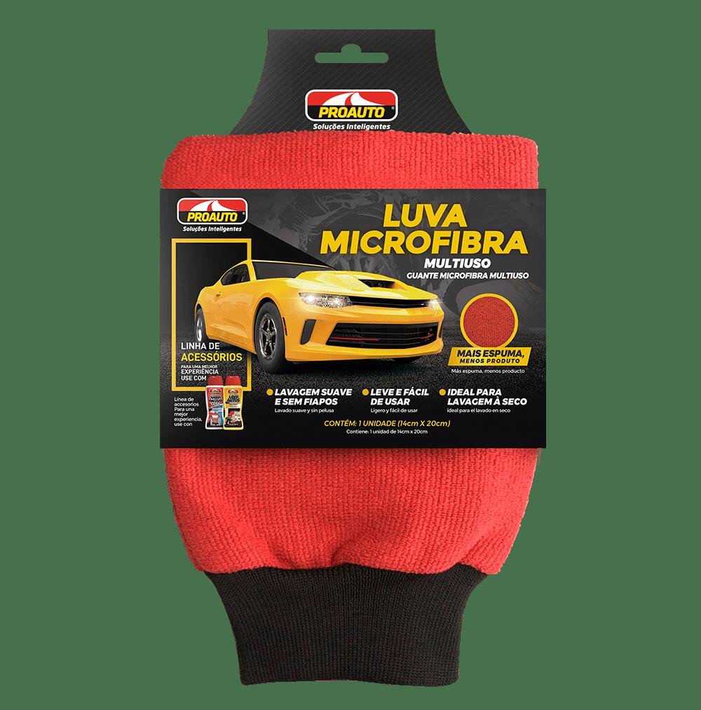 LUVA MICROFIBRA MULTIUSO  - E-Shop Auto Store - A loja do Canal Auto Didata