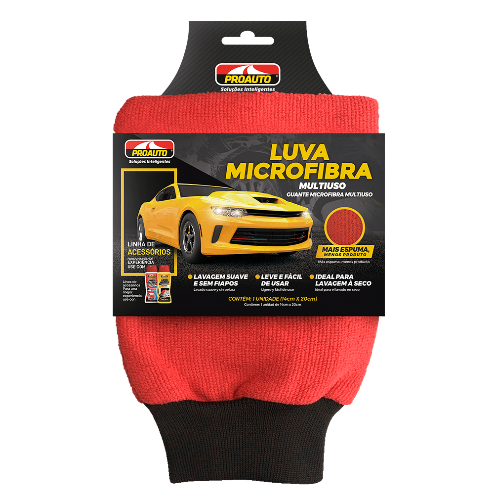 LUVA MICROFIBRA MULTIUSO  - E-Shop Autostore - A loja do Canal Auto Didata