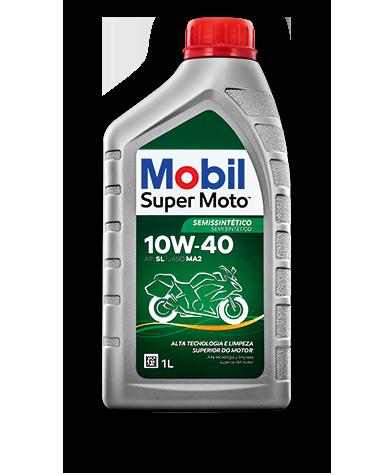 MOBIL Super Moto 10W40 Semissintetico  - E-Shop Autostore - A loja do Canal Auto Didata
