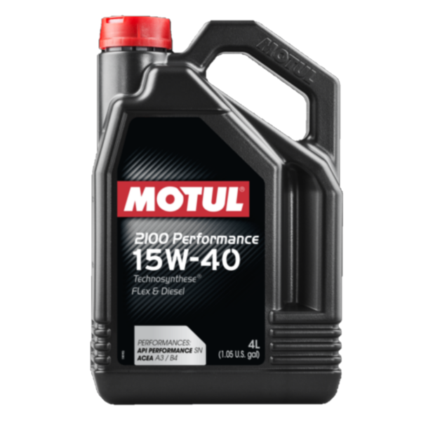 MOTUL 2100 PERFORMANCE 15W40 4L  - E-Shop Autostore - A loja do Canal Auto Didata