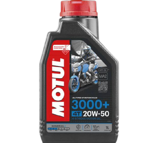 MOTUL 3000+ 20W-50 4T  - E-Shop Autostore - A loja do Canal Auto Didata