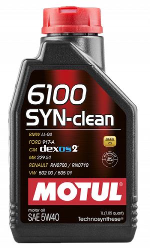MOTUL 6100 SYN-clean 5W40  - E-Shop Autostore - A loja do Canal Auto Didata