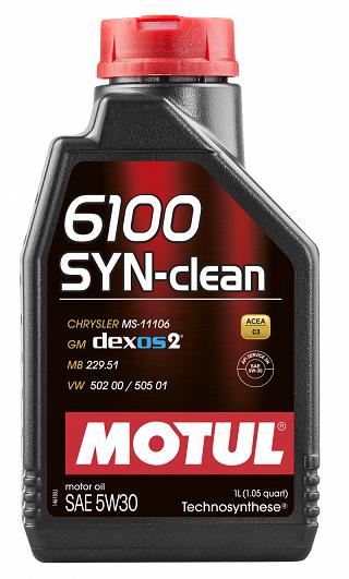 MOTUL 6100 SYN-Clean SAE 5W30  - E-Shop Autostore - A loja do Canal Auto Didata