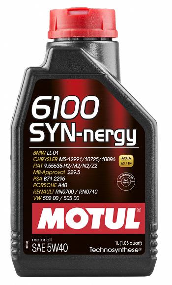 MOTUL 6100 SYN-nergy 5W40  - E-Shop Autostore - A loja do Canal Auto Didata