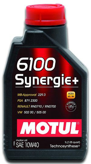 MOTUL 6100 SYNERGIE + 10W40  - E-Shop Auto Store - A loja do Canal Auto Didata
