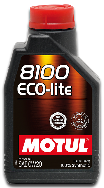 MOTUL 8100 ECO-lite 0W20 (Linha Honda Fit, City, Civic 2013 em diante)