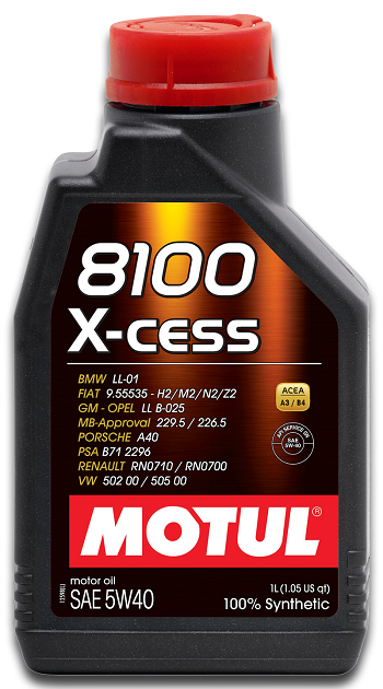 MOTUL 8100 X-Cess 5W40  - E-Shop Autostore - A loja do Canal Auto Didata